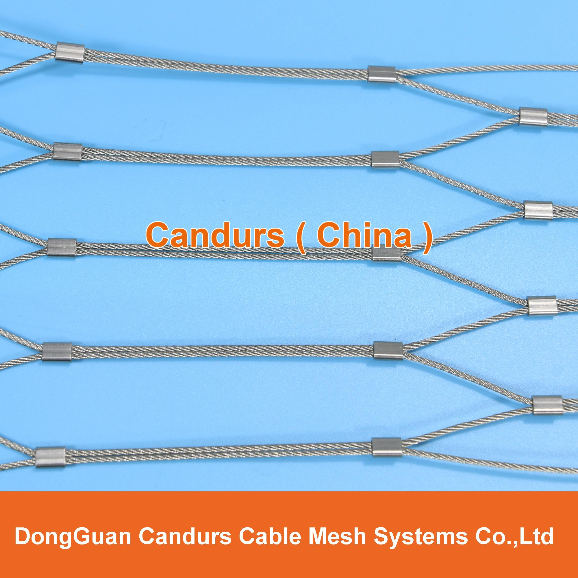 Stainless Steel Wire Cable Mesh Handrailing 1