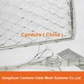 屋顶安全防护不锈钢绳网 9