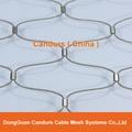 屋顶安全防护不锈钢绳网 11