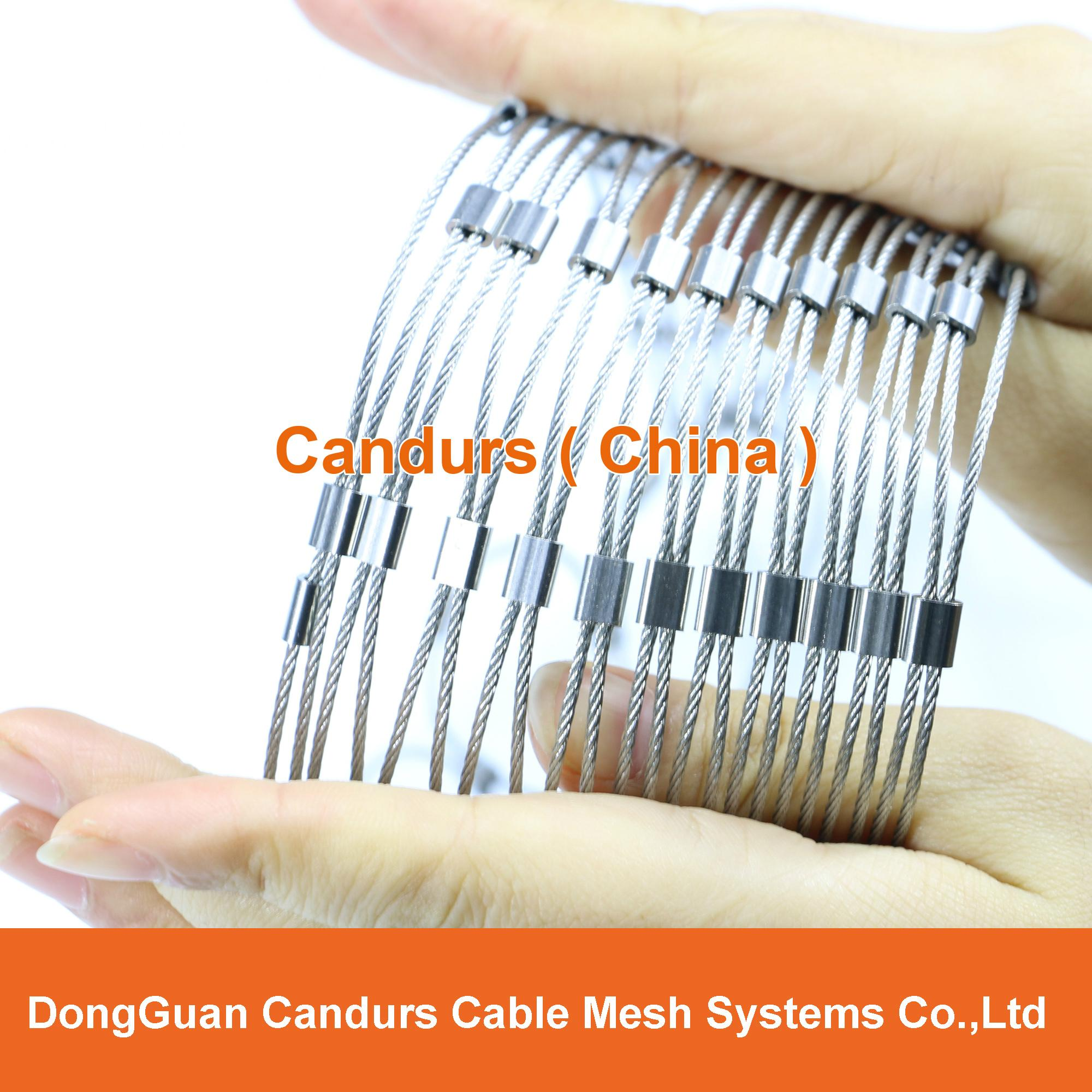 X Tend Flexible Stainless Steel Cable (Rope) Mesh 2