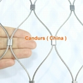 2.0mm 100 mm Mesh 316 Flexible Stainless Steel Wire Cable Mesh 11