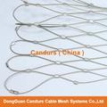 2.0mm 80mm x 140mm 316 不鏽鋼絲繩柔性網 13