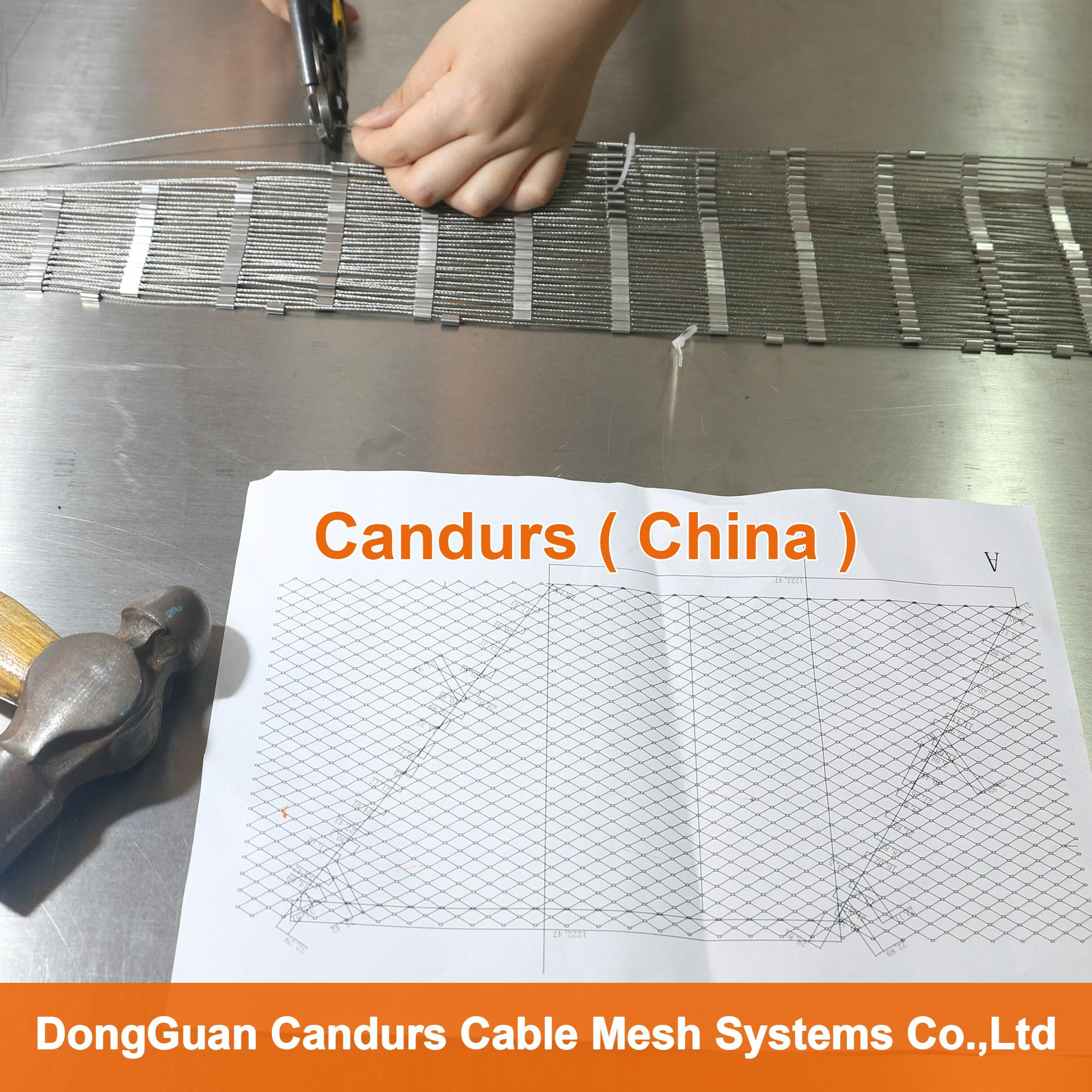 Flexible Stainless Steel Wire Cable Mesh 1