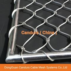 不鏽鋼絲繩套環網
