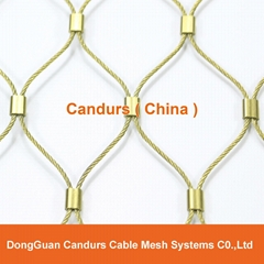 Flexible Stainless Steel Wire Rope(Cable) Mesh For Railing System
