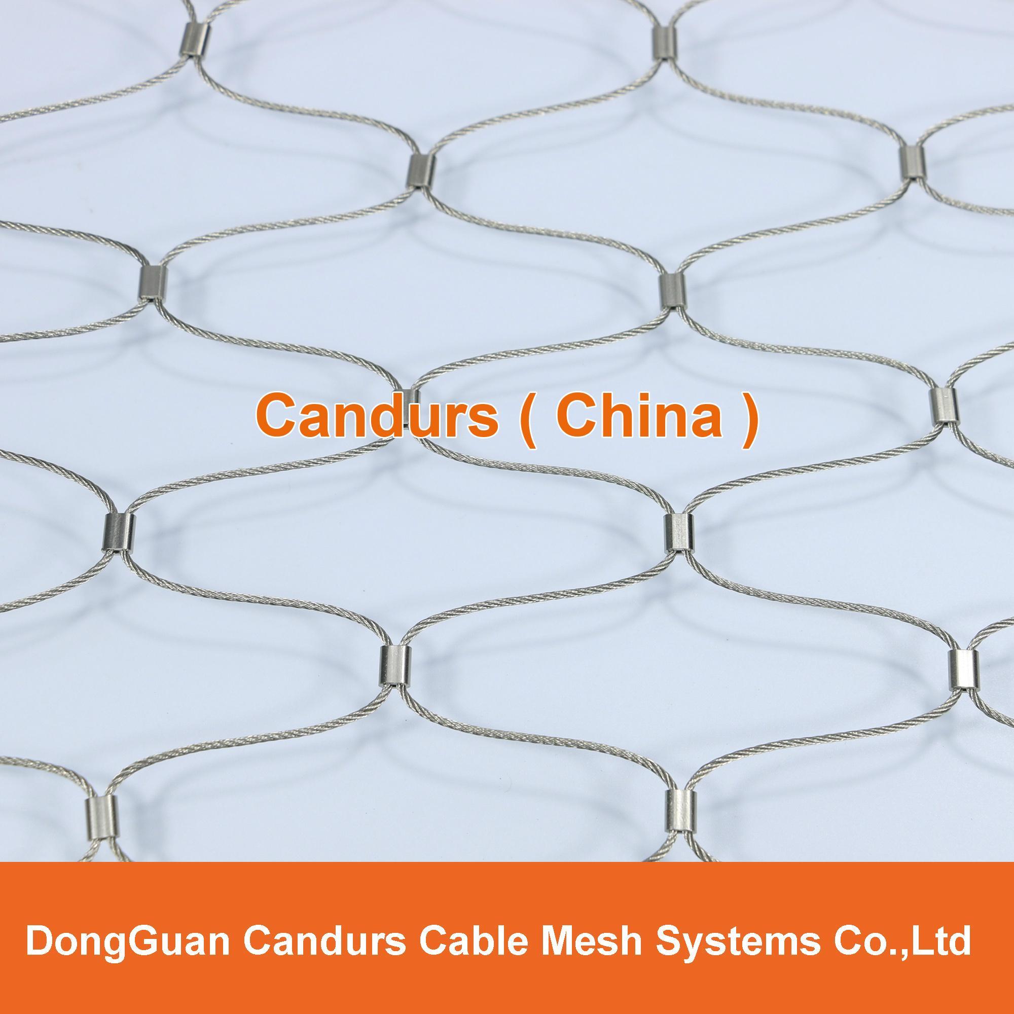 框架柔性安全繩網 7