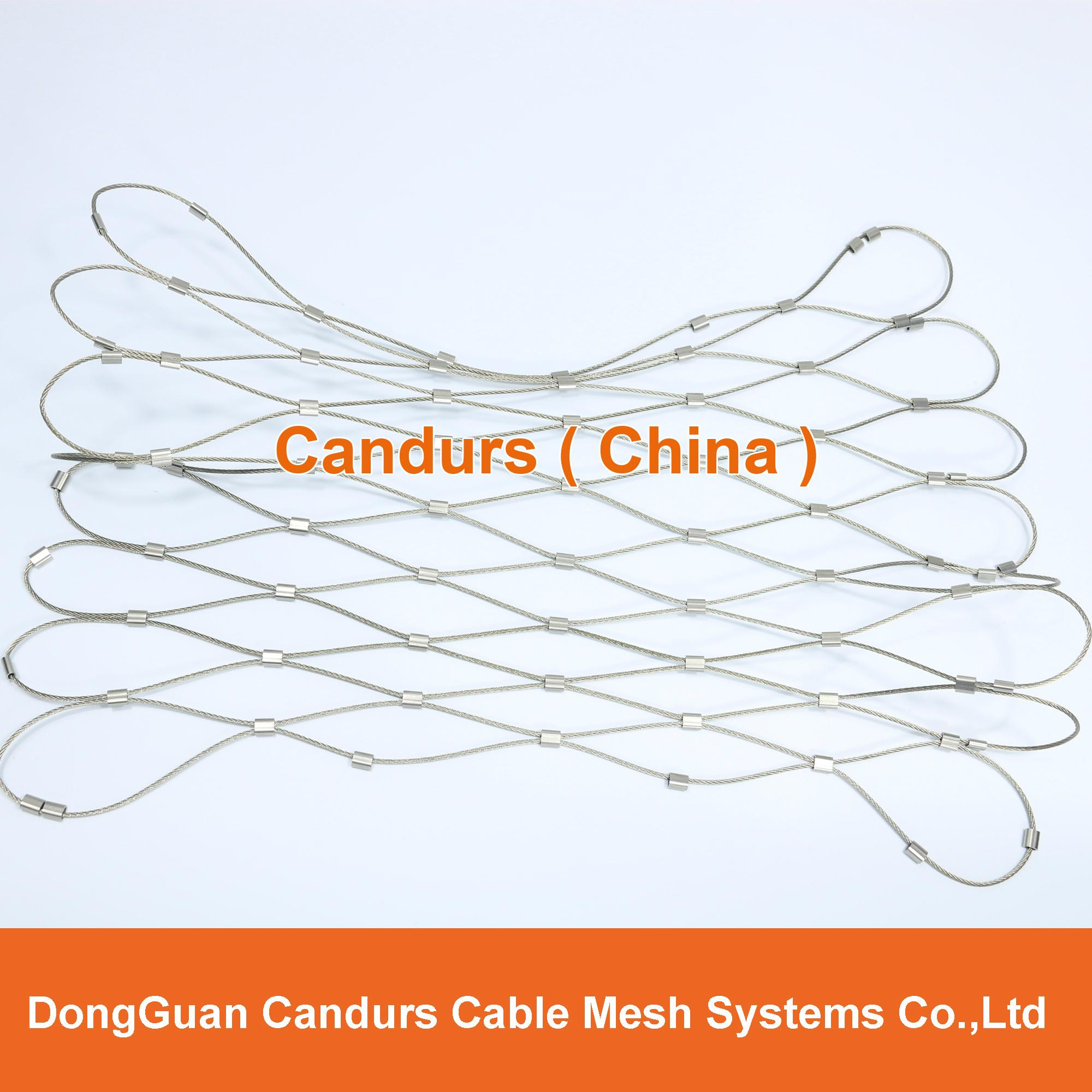 框架柔性安全繩網 13