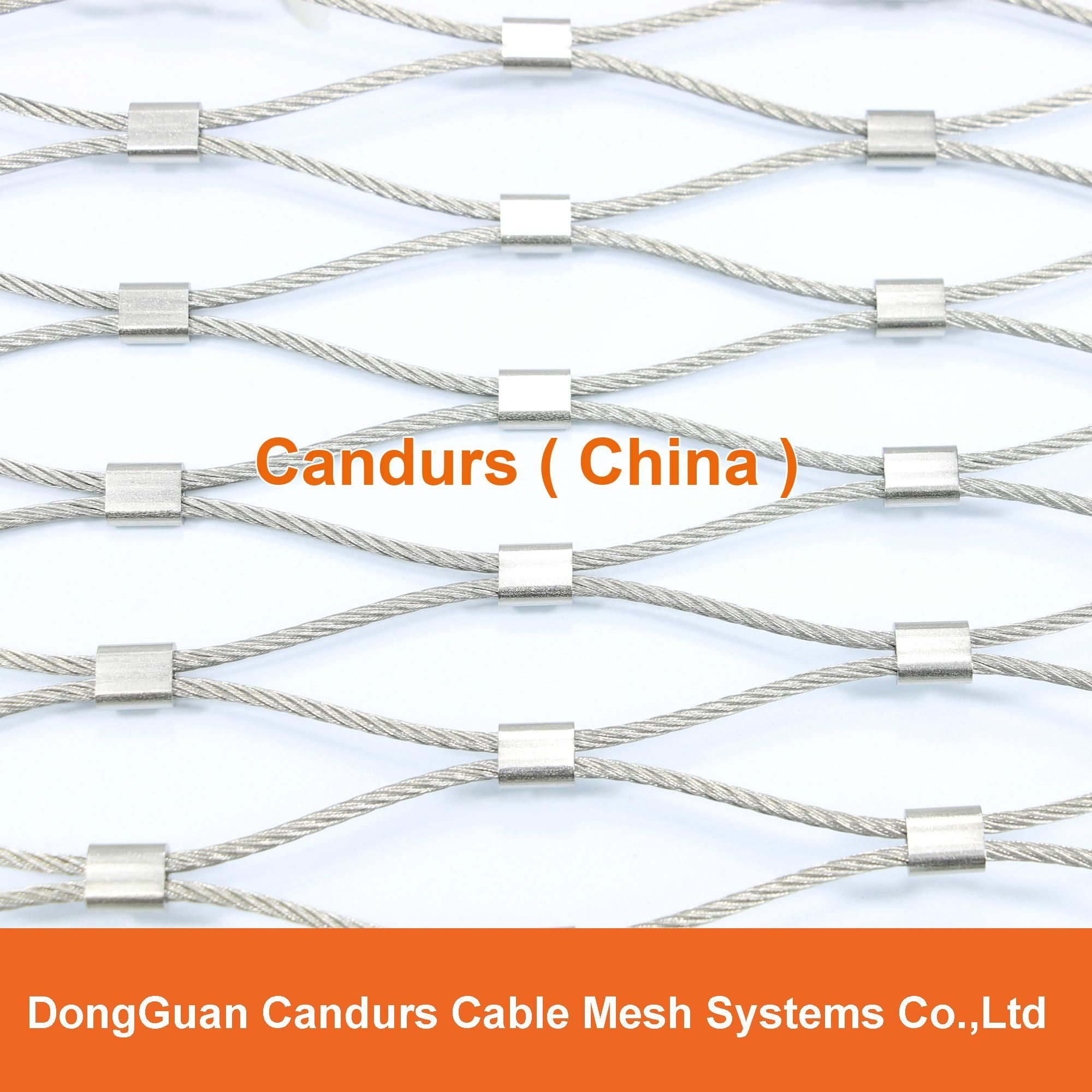 柔性鍍鋅鋼絲繩網 11