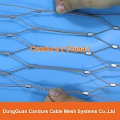 柔性安全绳网