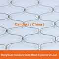 Architectural Flexible Stainless Steel Rope Wire Mesh