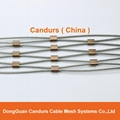 不锈钢丝绳菱形安全网 11