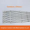不锈钢丝绳菱形安全网 2