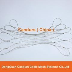 不锈钢装饰园林绳网