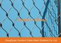 昌达环保无毒美标316不锈钢丝绳装饰网 4