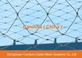 昌達環保無毒美標316不鏽鋼絲繩裝飾網 6