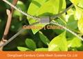 昌达环保无毒美标316不锈钢丝绳装饰网 2
