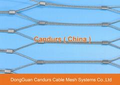 昌达环保无毒美标316不锈钢丝绳装饰网