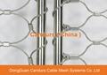 昌達環保無毒美標316不鏽鋼絲繩裝飾網 7