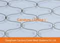 昌達環保無毒美標316不鏽鋼絲繩裝飾網 8