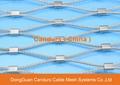 昌達環保無毒美標316不鏽鋼絲繩裝飾網 10