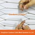 不锈钢丝绳耐用楼梯防护安全网 11