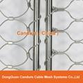 不鏽鋼絲繩耐用樓梯防護安全網 10