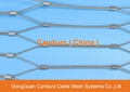 X Tend Stainless Steel Cable Mesh For Handrail Balcony Infill