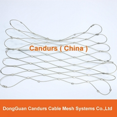 Candurs Flexible Stainless Steel Bird Rope Mesh