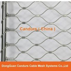 昌達不鏽鋼絲繩網——美標316不鏽鋼繩網