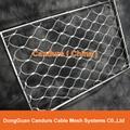 柔性不鏽鋼扶手欄杆防護網
