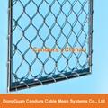 柔性不锈钢扶手栏杆防护网 16