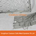 柔性不锈钢扶手栏杆防护网 19