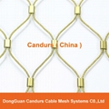 Candurs Flexible Ferruled Stainless Steel Rope Mesh