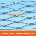 Candurs Flexible wire rope ferrule mesh