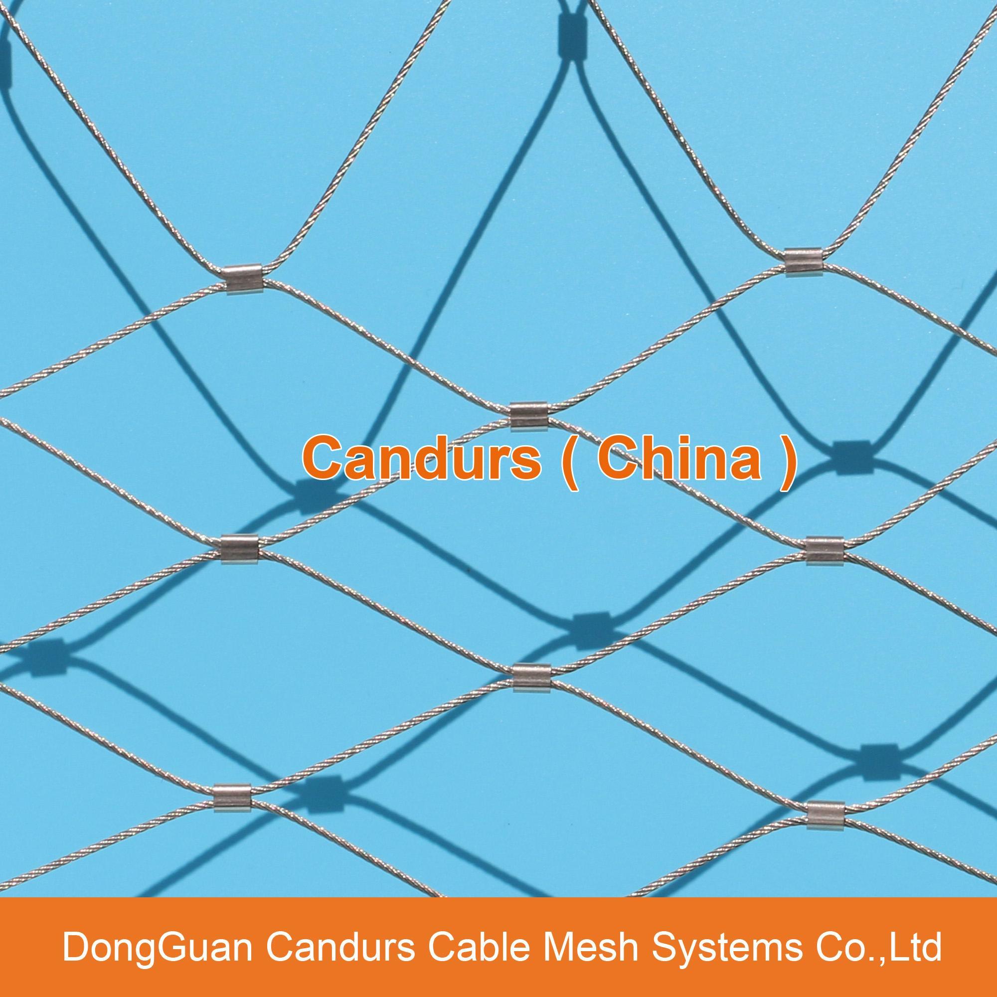 不鏽鋼絲繩綠牆網 13