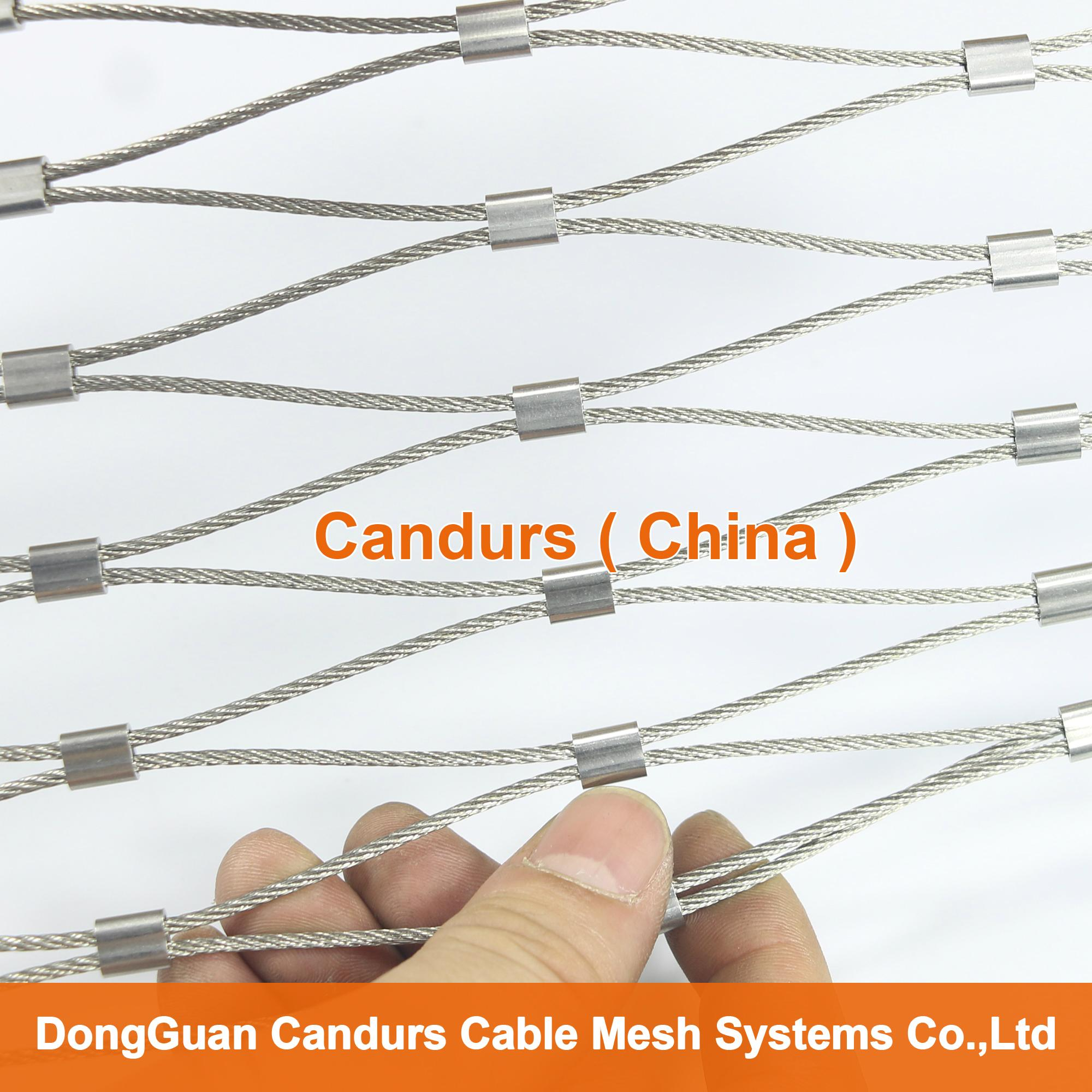 Stainless Steel Wire Distributors : Stainless steel wire rope mesh net for green wall
