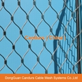 Flexible Rope Fence Panel For Security