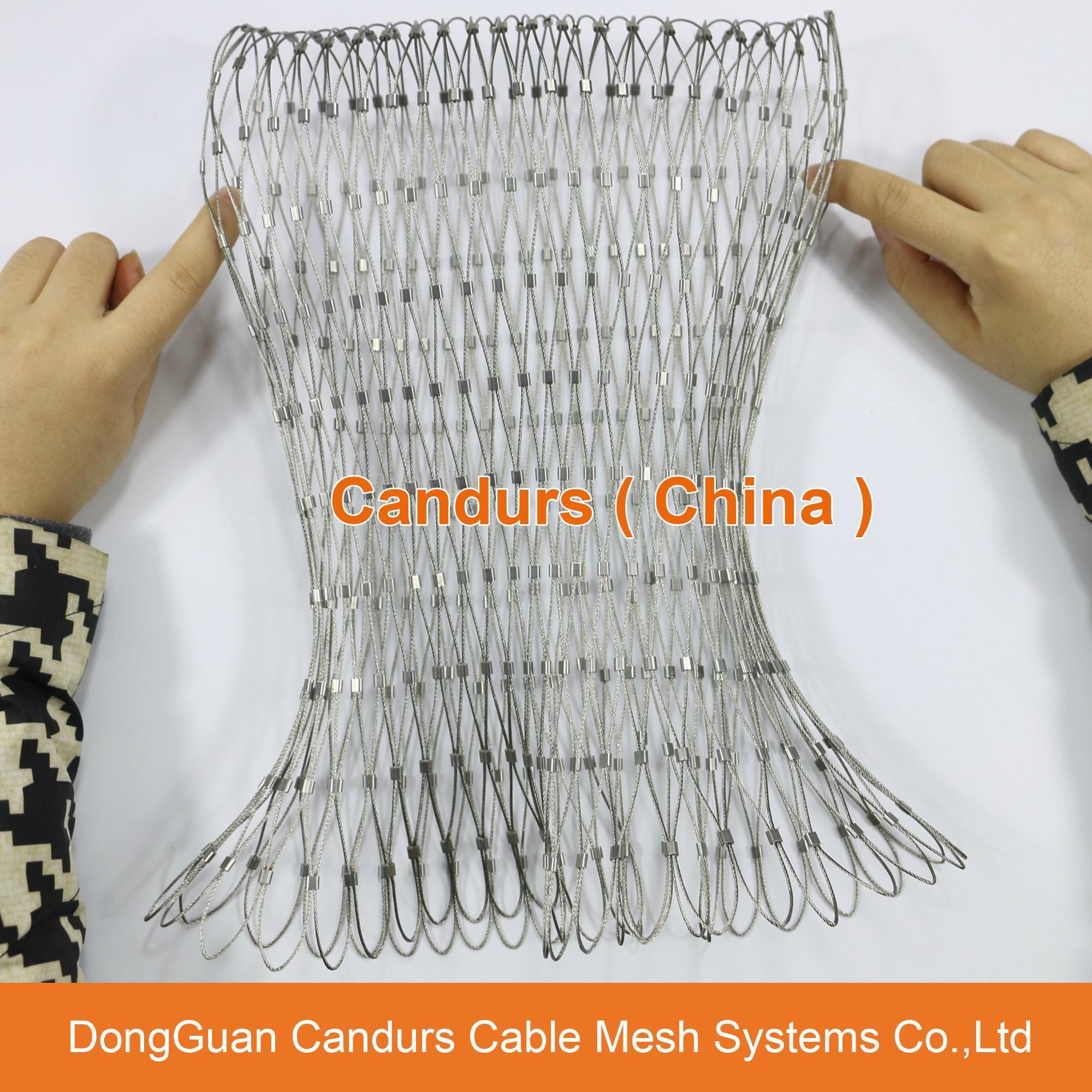 不鏽鋼絲繩綠牆網 17
