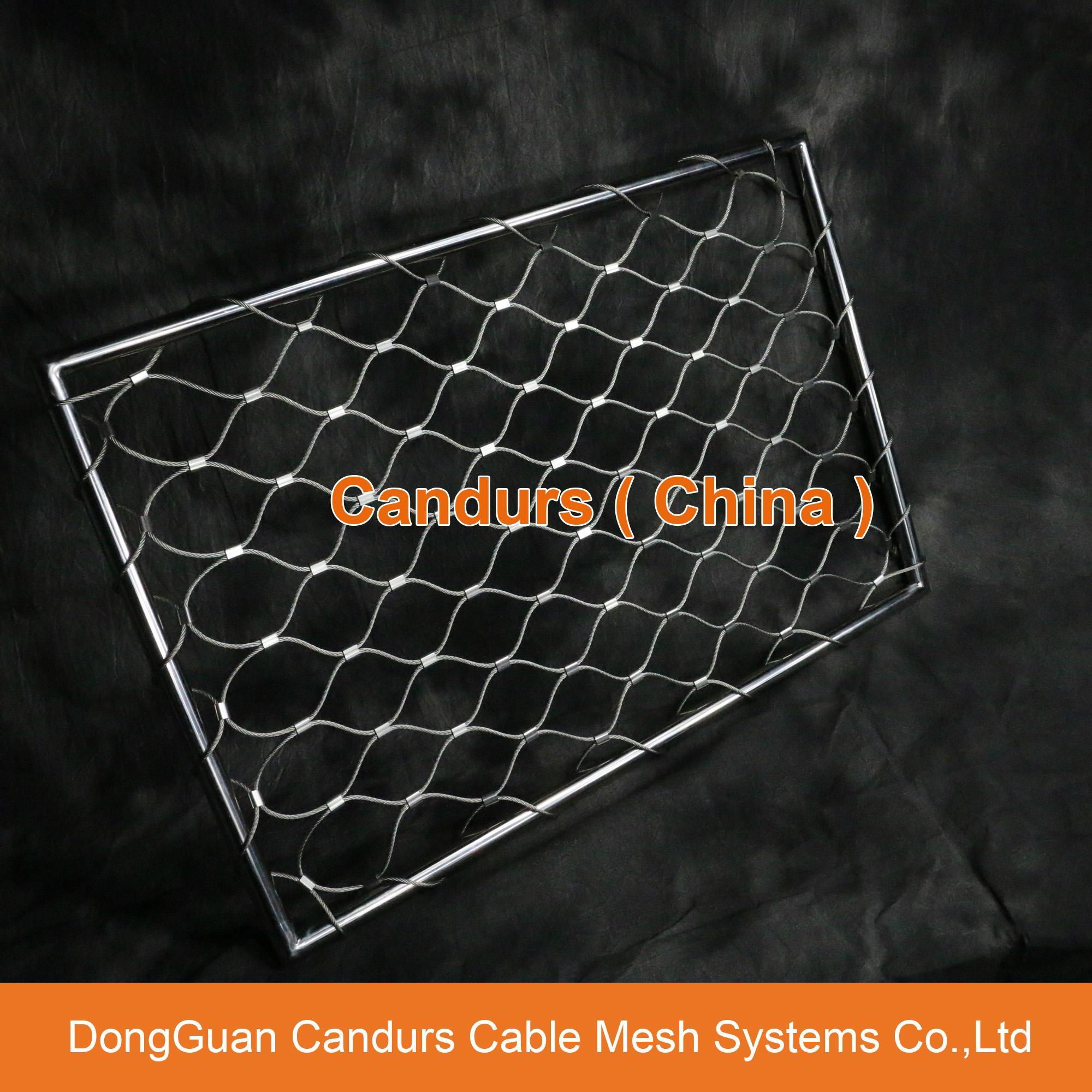 不鏽鋼絲繩外牆裝飾網 15