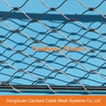 Steel Inox Cable Decorative Facade Mesh