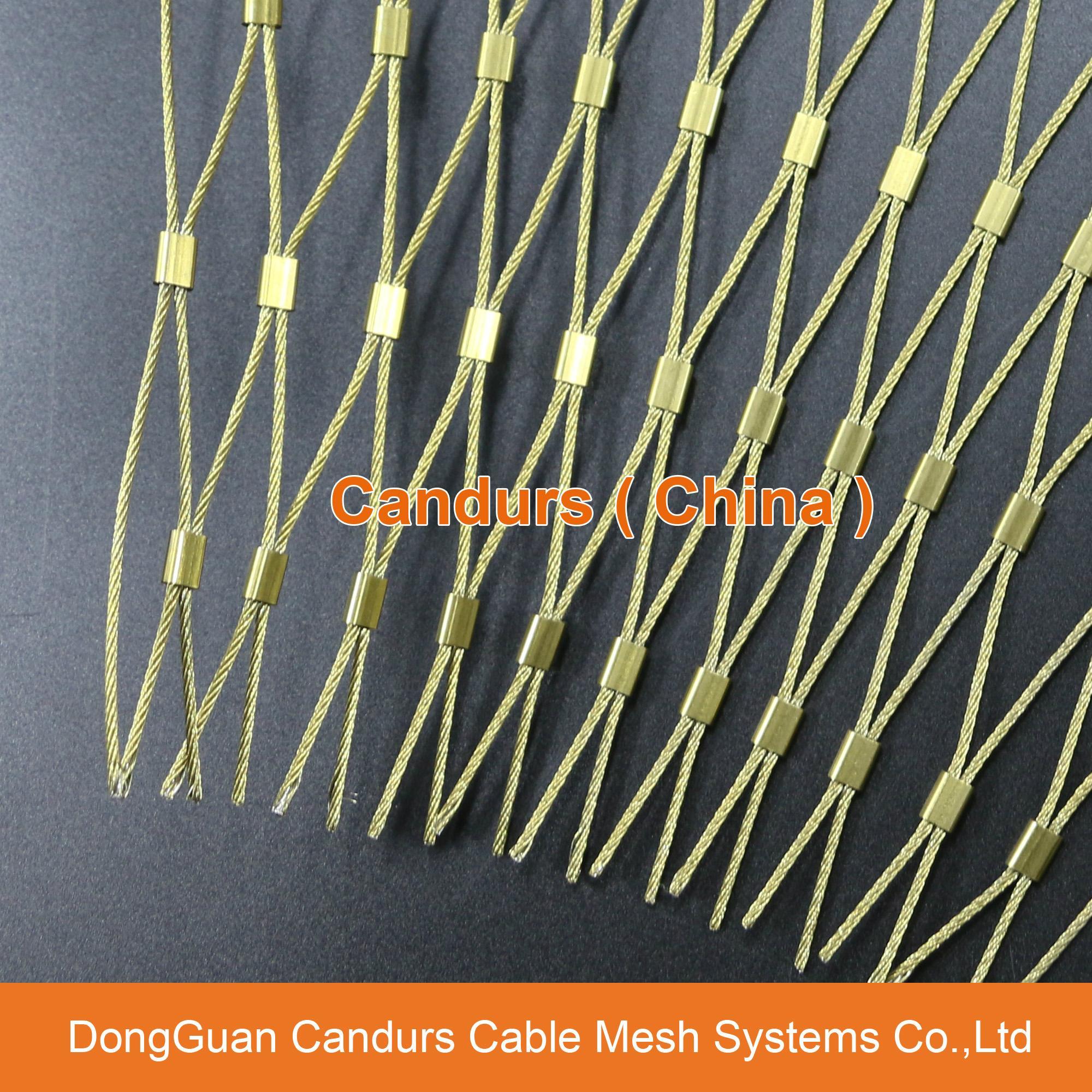 不鏽鋼絲繩外牆裝飾網 17