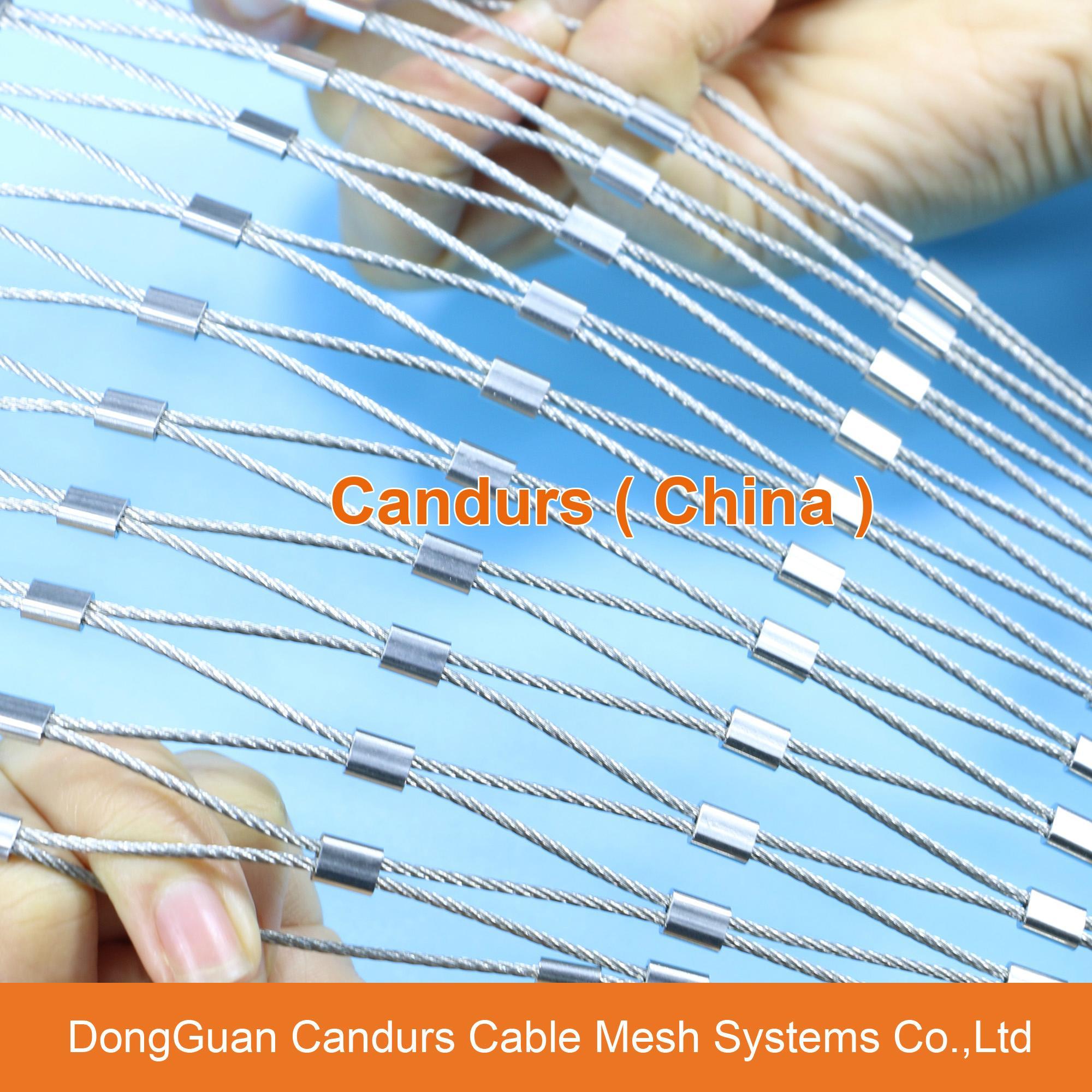 不鏽鋼繩建築柔性防護網 18