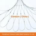 不锈钢绳建筑柔性防护网 20