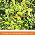Rusted Steel Decorative Green Wall Climbing Wire Mesh