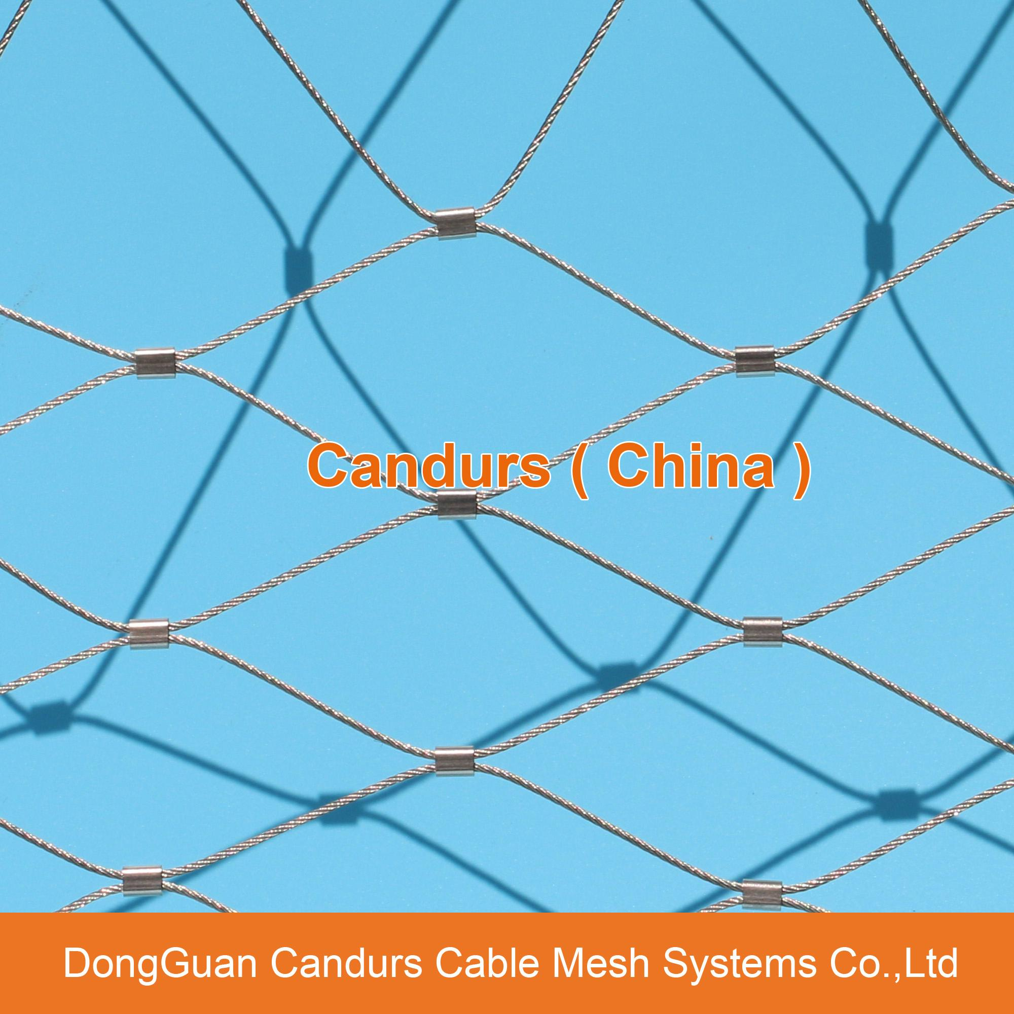 Flexible Stainless Steel Cable Mesh 16