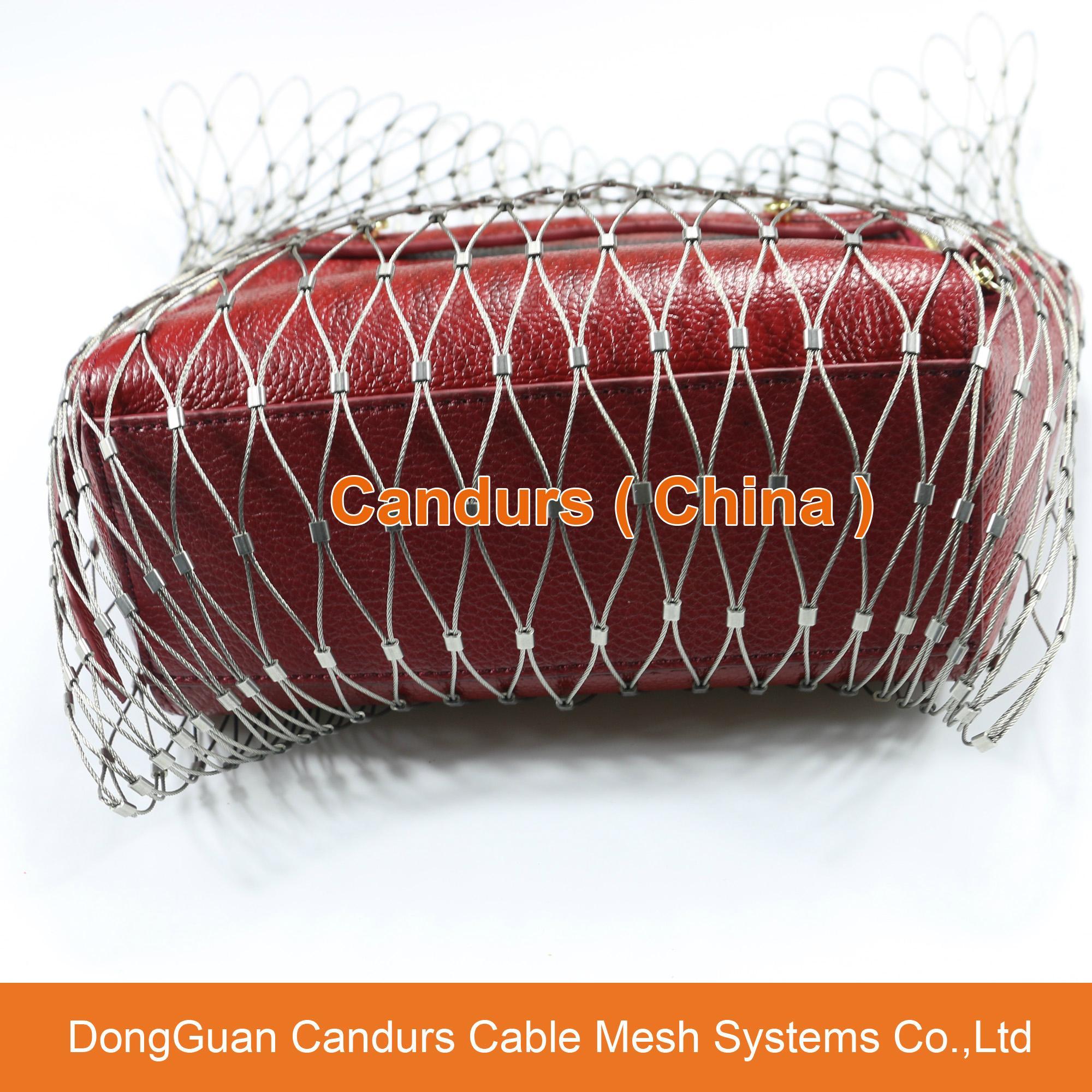 不鏽鋼絲繩網動物扣網 14
