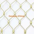不鏽鋼絲繩網動物扣網 15