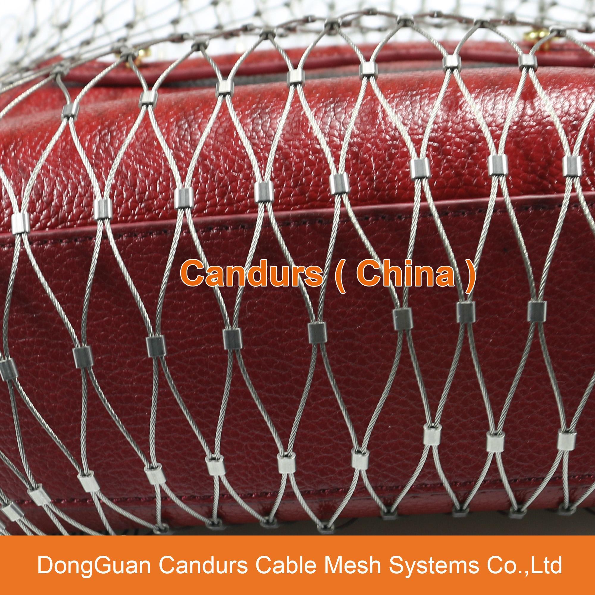不鏽鋼絲繩網動物扣網 17