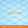 不鏽鋼絲繩外牆裝飾網 20