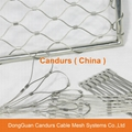 Flexible Stainless Steel Rope Mesh Fence